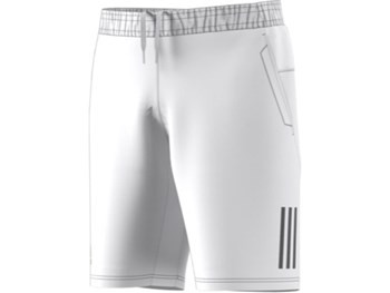 Adidas Club 3Str 9 Short - White