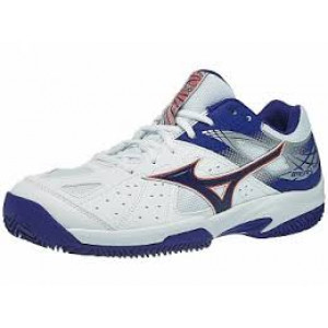 Mizuno Break Shot 2 all court - white/reflex blue/nasturtium