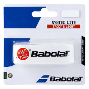 Babolat Syntec Lite replacement grip - white