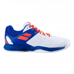 Babolat Pulsion Clay - White/Dazzling Blue