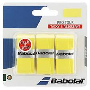 Babolat Pro Tour overgrip 3-pack - yellow