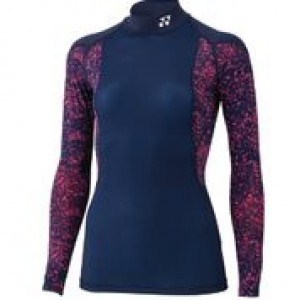 Yonex STBF1514 ex ladies (compression) long sleeve - navy