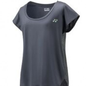 Yonex 16314 ladies t-shirt 2018 - charcoal
