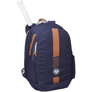 WILSON ROLAND GARROS TEAM BACKPACK - Nav/CLAY