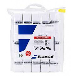 Babolat Pro Tour overgrip 30-pack - white
