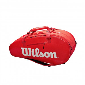 WILSON SUPER TOUR 2 COMP LARGE - RED