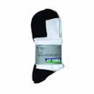 Yonex 8423 Socks 3-pack - white/black