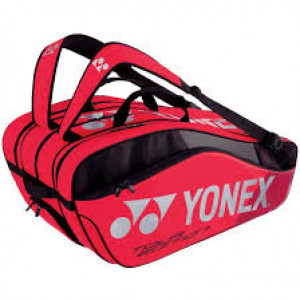 Yonex Pro racket bag 9829 ex - flame red