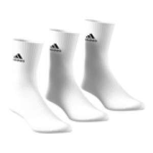 Adidas Cushion Crew Sock 3 Pak - White
