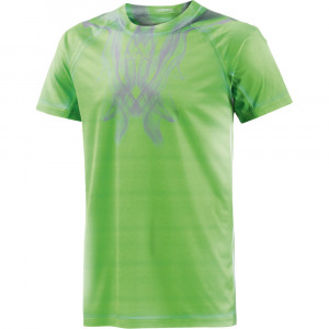 Adidas Adizero Tee - flash green/clear grey