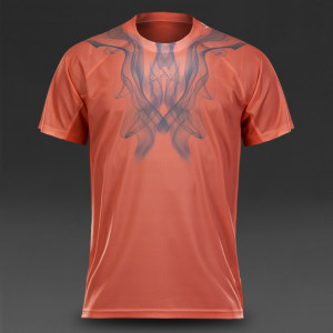 Adidas Adizero Tee - semi Flash red/dhg solid grey
