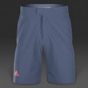 Adidas Barricade bermuda shorts - tech ink/flash red