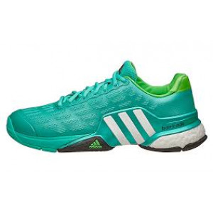 Adidas Barricade Boost 2016 - shock mint/white/solar lime