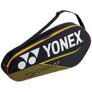 Yonex team racketbag 42023 - black/yellow