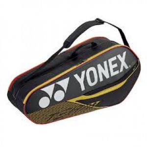 Yonex team racketbag 42026 - black/yellow