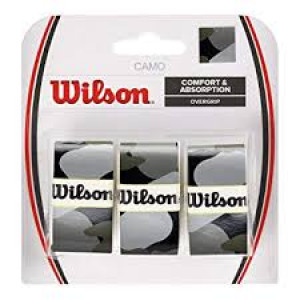Wilson Camo Overgrip 3-pack - black