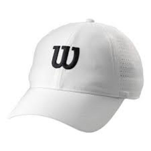 Wilson ultralight Tennis cap - white