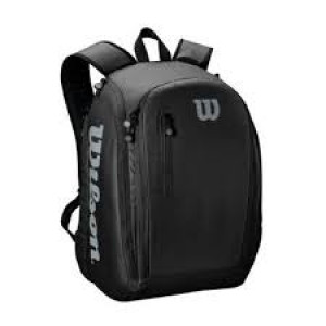 Wilson Tour Backpack - black/grey