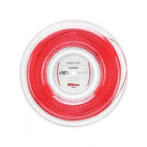 Wilson Revolve Twist 16 / 1,30 mm, 200 m reel - red