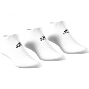 Adidas Cushion No Show 3 pack - White