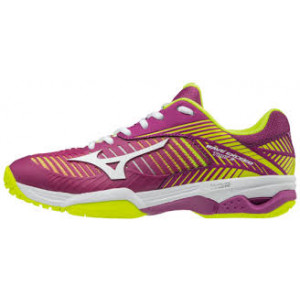 Mizuno Wave Exceed 3 AC - clover/white/safety yellow