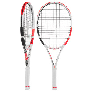 Babolat Pure Strike Junior 26 - White/Red/Black