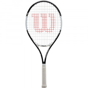 Wilson Roger Federer junior 25 - Black/White