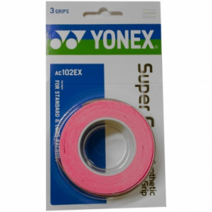 Yonex Super Grap 3-pack - french pink