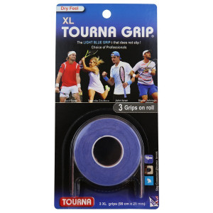 Tourna grip 3 pcs. - blue