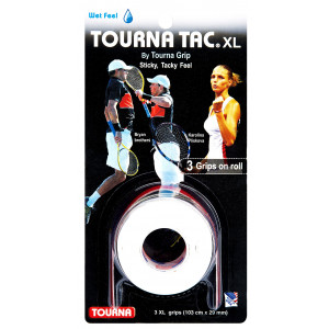 Tourna Tac XL grip - white/pink/blue
