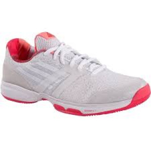 Adidas Adizero Ubersonic women - crystal white/white/shock red