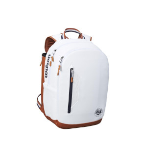 Wilson Roland Garros Tour BackPack - White/Navy/Clay